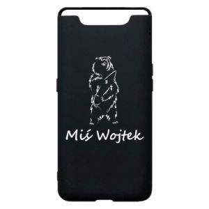 Phone case for Samsung A80 Wojtek the Bear