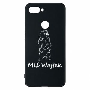 Phone case for Xiaomi Mi8 Lite Wojtek the Bear