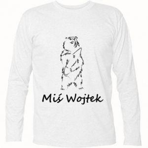 Long Sleeve T-shirt Wojtek the Bear