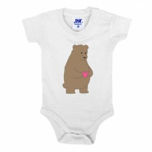 Baby bodysuit Bear