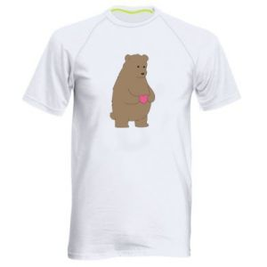 Men's sports t-shirt Bear