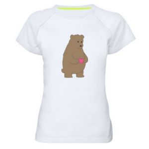 Women's sports t-shirt Bear