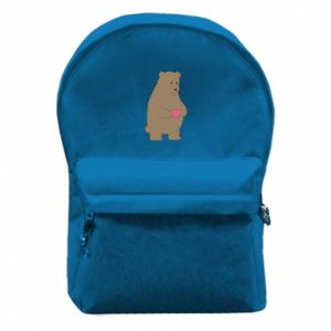 Backpack with front pocket Bear