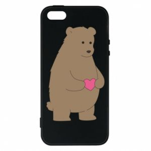 Phone case for iPhone 5/5S/SE Bear