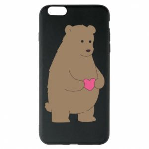 Phone case for iPhone 6 Plus/6S Plus Bear
