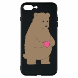 Phone case for iPhone 8 Plus Bear