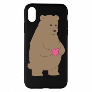 Phone case for iPhone X/Xs Bear