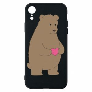 Phone case for iPhone XR Bear