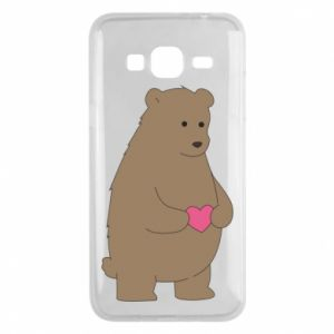 Phone case for Samsung J3 2016 Bear