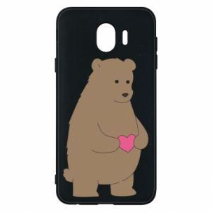 Samsung J4 Case Bear