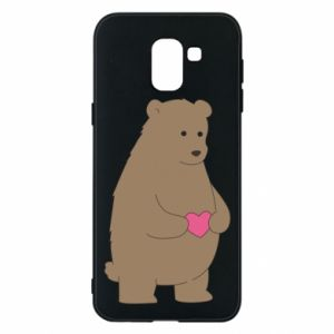 Phone case for Samsung J6 Bear
