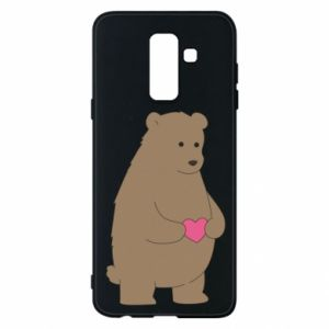 Phone case for Samsung A6+ 2018 Bear