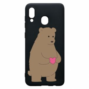 Phone case for Samsung A20 Bear