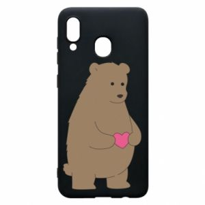 Phone case for Samsung A30 Bear