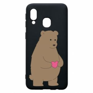 Phone case for Samsung A40 Bear