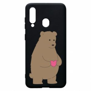 Phone case for Samsung A60 Bear