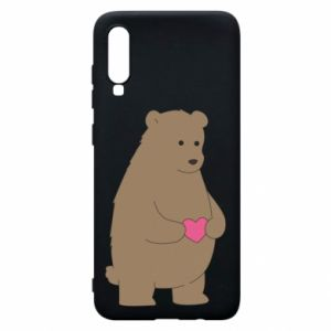 Samsung A70 Case Bear
