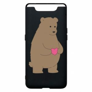 Samsung A80 Case Bear