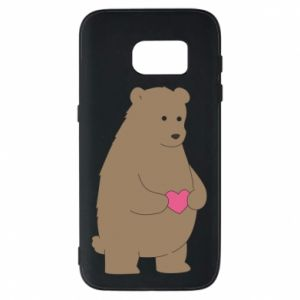 Phone case for Samsung S7 Bear