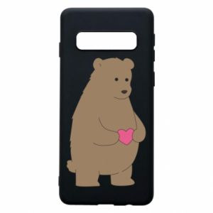 Samsung S10 Case Bear