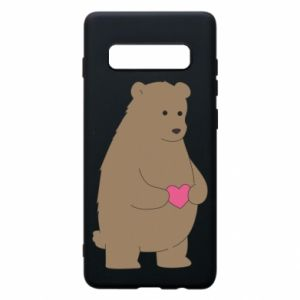 Samsung S10+ Case Bear