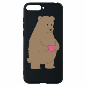 Phone case for Huawei Y6 2018 Bear
