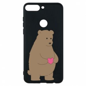 Phone case for Huawei Y7 Prime 2018 Bear