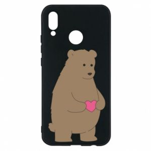 Phone case for Huawei P20 Lite Bear