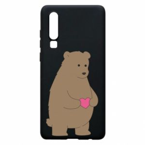 Phone case for Huawei P30 Bear