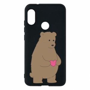 Phone case for Mi A2 Lite Bear