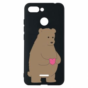 Phone case for Xiaomi Redmi 6 Bear