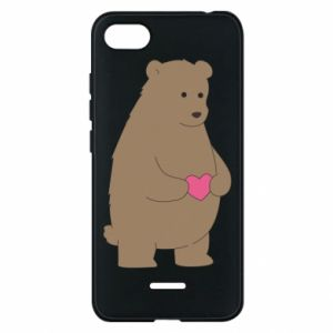 Phone case for Xiaomi Redmi 6A Bear
