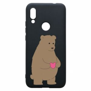 Phone case for Xiaomi Redmi 7 Bear