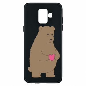 Phone case for Samsung A6 2018 Bear