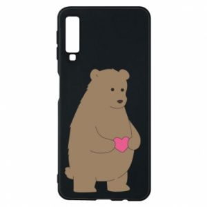 Phone case for Samsung A7 2018 Bear