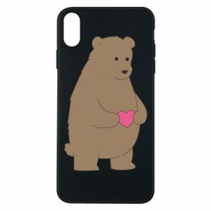 Phone case for iPhone Xs Max Bear