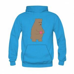 Kid's hoodie Bear