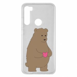 Xiaomi Redmi Note 8 Case Bear