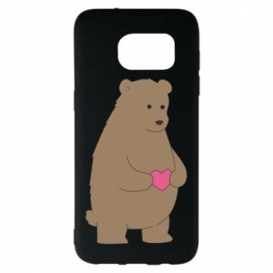 Samsung S7 EDGE Case Bear
