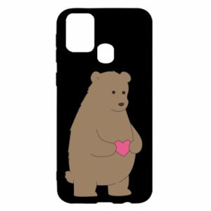 Samsung M31 Case Bear
