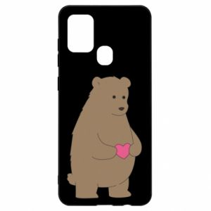 Samsung A21s Case Bear