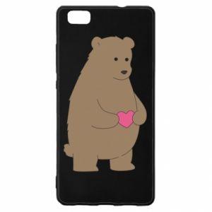 Huawei P8 Lite Case Bear