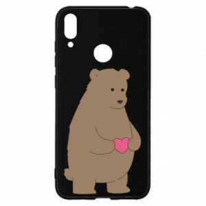 Huawei Y7 2019 Case Bear