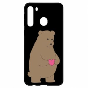 Samsung A21 Case Bear