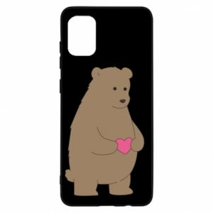 Samsung A31 Case Bear