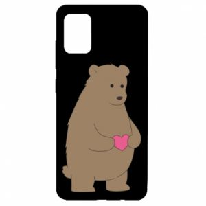 Samsung A51 Case Bear