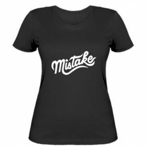 Damska koszulka Mistake