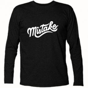 Koszulka z długim rękawem Mistake