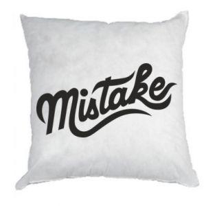 Poduszka Mistake