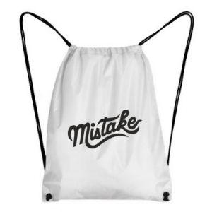 Plecak-worek Mistake